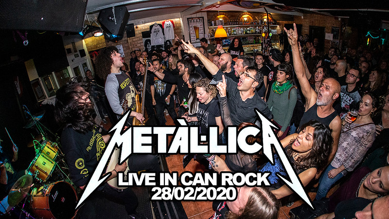 METALLICA · CAN ROCK · 28/02/2020