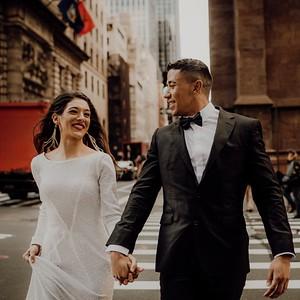 Nour & Justin, en New York