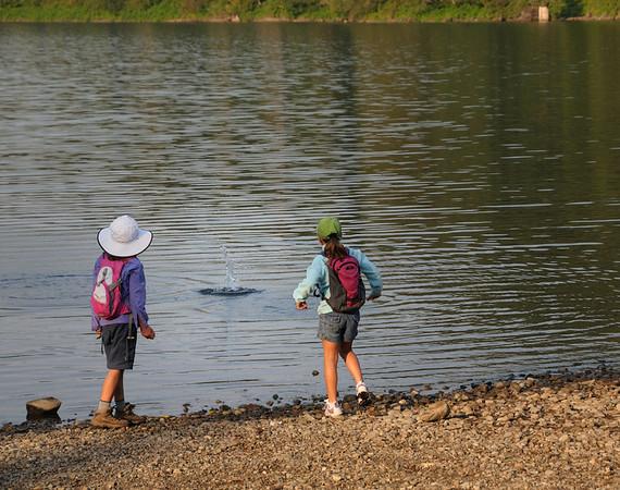 Rattlesnake Ledge and Lake Sept 2011