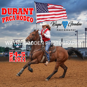 Durant PRCA Rodeo 2021