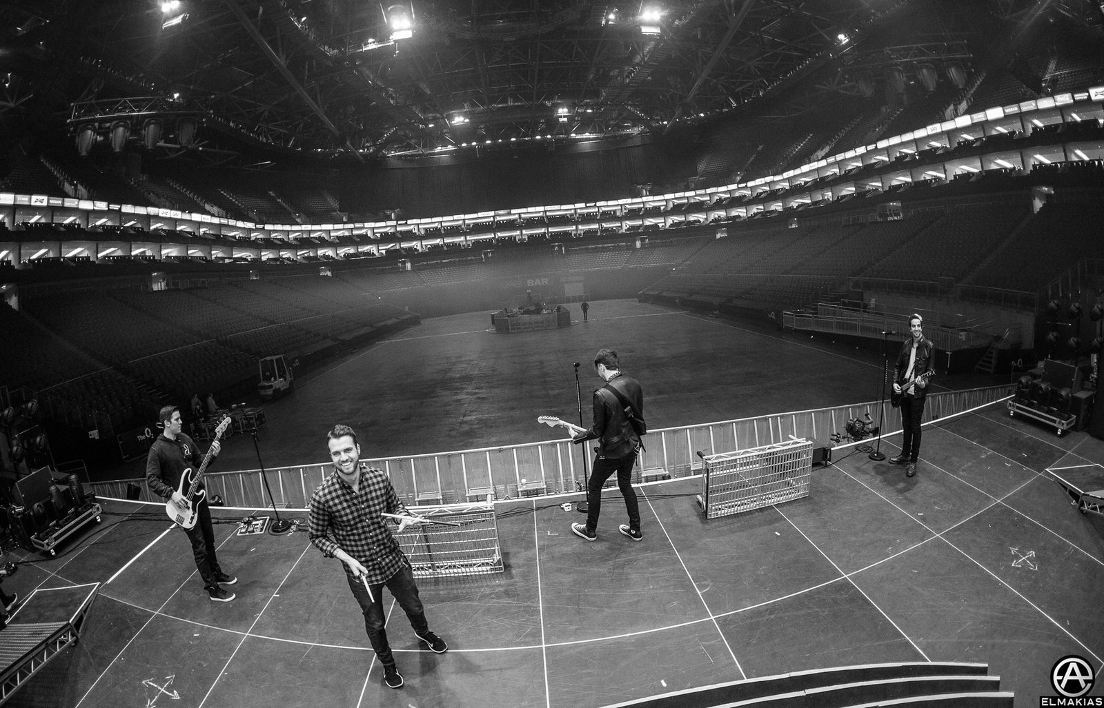 All Time Low soundcheck at O2 Arena in London