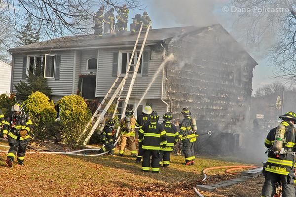 12-13-2012 Emerson, NJ 2nd Alarm: 101 Union Street