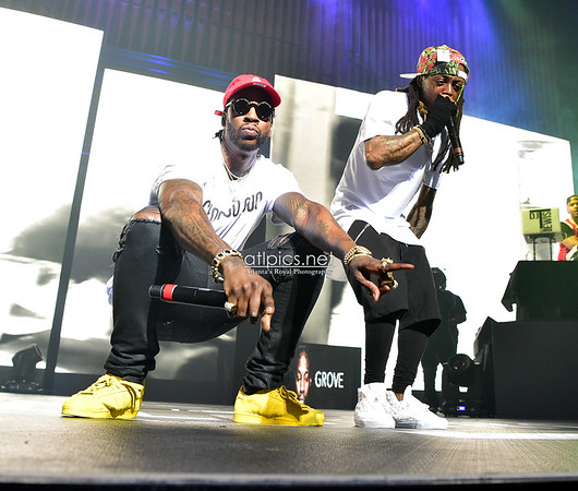 "3.30.16 Lil Wayne & 2 Chainz' ""Collegrove"" TIDAL Concert"
