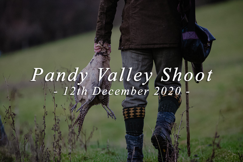 Pandy Valley Shoot | 12.12.20