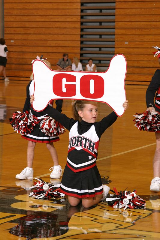 North Gwinnett North (Cheer-off 1st and 2nd grade 10-3-04)
