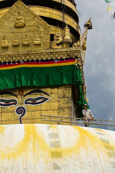 Maintaining Swayambhunath