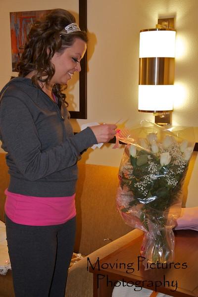 Erin & Evan Wedding - a bouquet for Erin