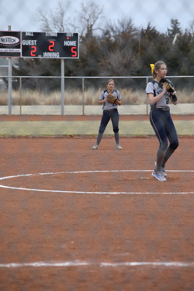 JV Softball vs. Colby 2019