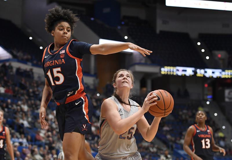 Virginia UConn Basketball