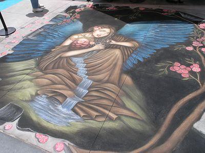 Pasadena Chalk Art Walk