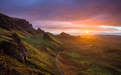 Sunrise of the Quiraing
