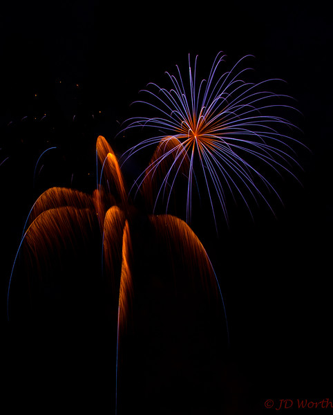 070417 Luray VA Downtown Fireworks - Blue Sea Urchin and Burnt Orange Blue Tipped Sea Oats-0878.jpg