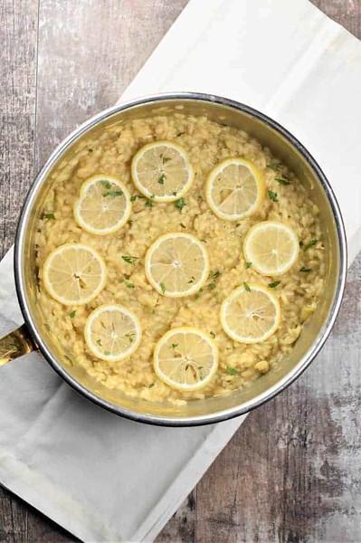Vegan Italian Recipes - Lemon Risotto