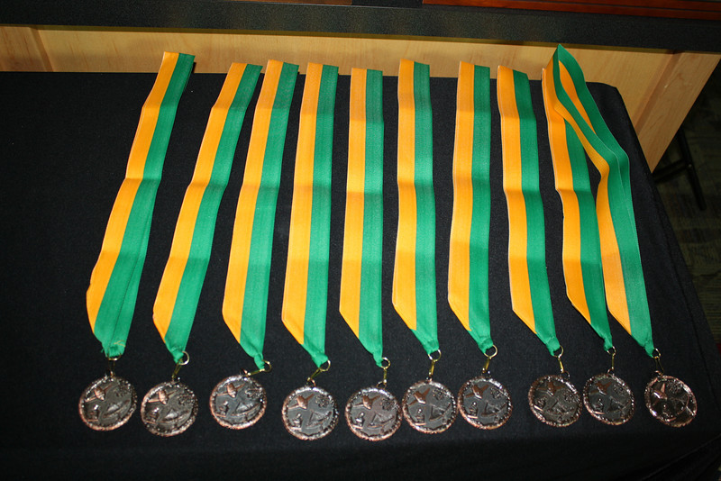 2014 Finalist Medals