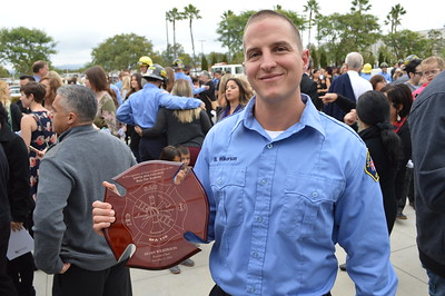 Brian Jr's Fire Academy Graduation