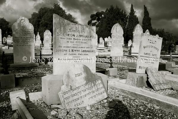 AUSTRALIA, South Australia, Adelaide. Jewish sector, West Terrace Cemetery. (8.2010)