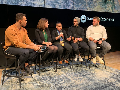 Samsung Event: Inclusion in Sports Panel 2019