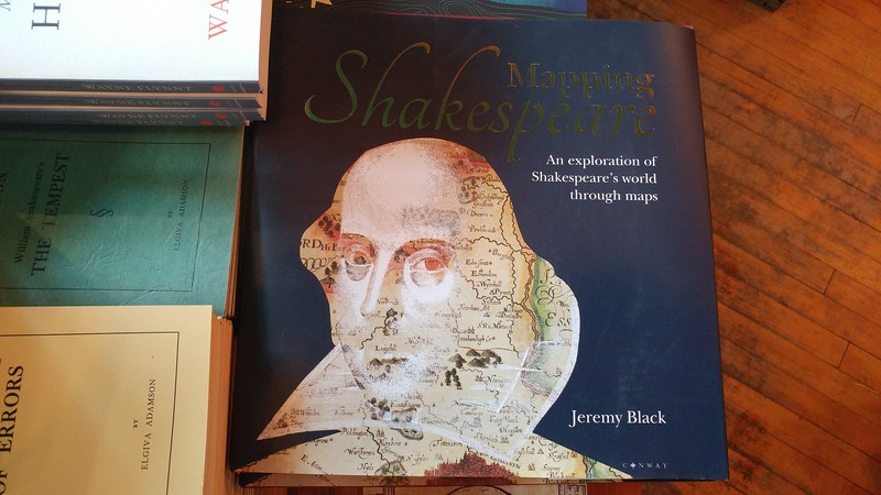 a book called Mapping Shakespeare
