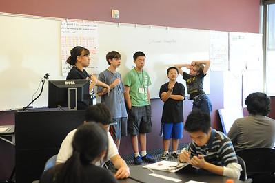 2013 Summer Math Institutes (Thursday)