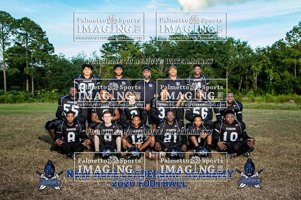 New Hope Leadership football Team and Ind.