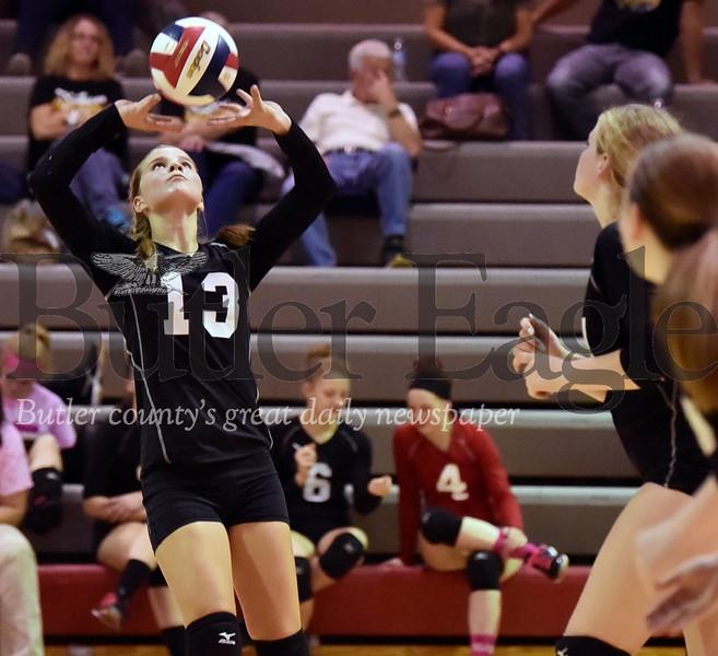84108 Moniteau vs Keystone District 9 girls volleyball at Moniteau High School