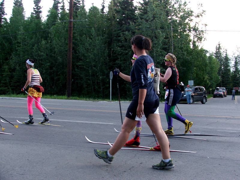Midnight Sun Fun Run.  Fairbanks, AK
