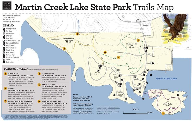 Martin Creek Lake State Park (Trails)