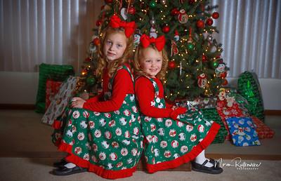 Charlotte and Lexis Christmas 2018