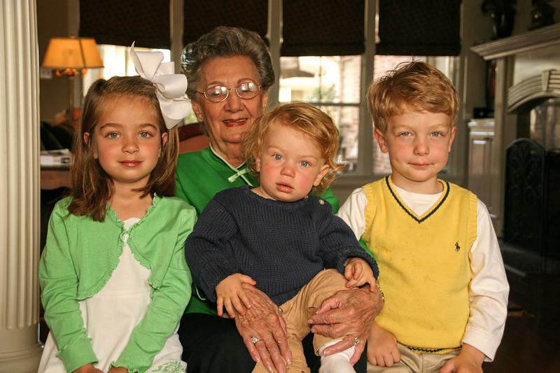 The Great Grandchildren.