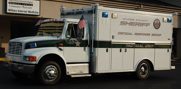 Wilkes County Sheriff's Office Critical Response Group