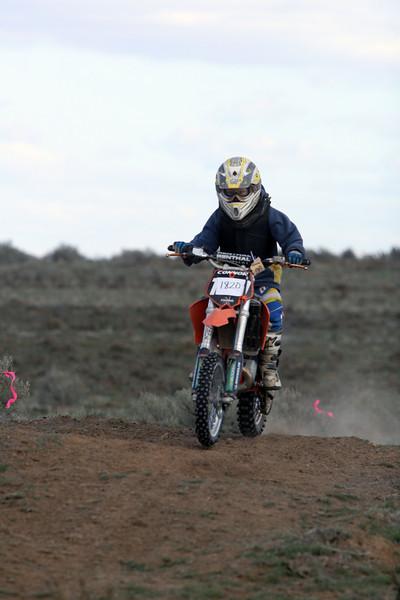2009 Desert 100 Kids Race #2- Orange Bikes