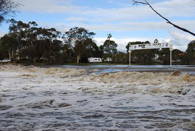 Avon River in Flood 2008