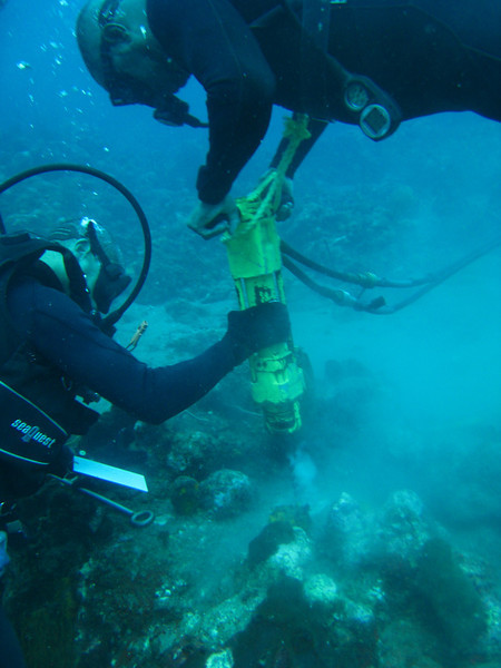 2009 Mooring Drilling Saba
