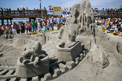 7/29/07 Imperial Beach Sand Castle Competition