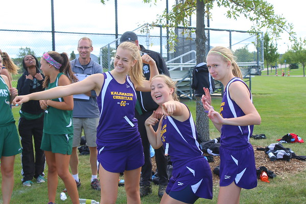 Cross Country at South Chr. - 9/12/15 - KCHS