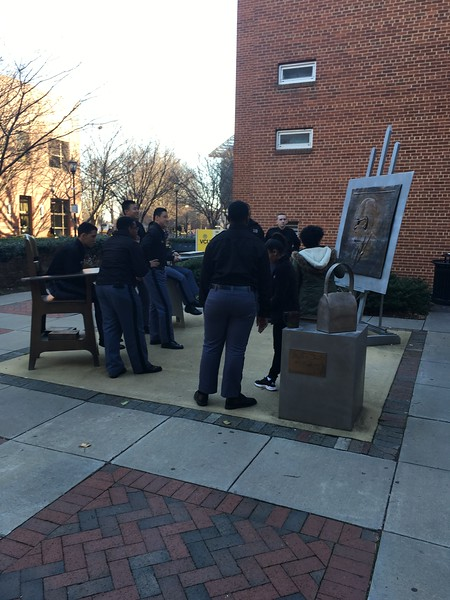 Cadets Visit Virginia Commonwealth University