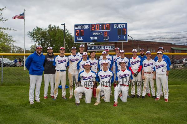 2019-5-24 WHS Baseball vs Pinkerton Sr Night