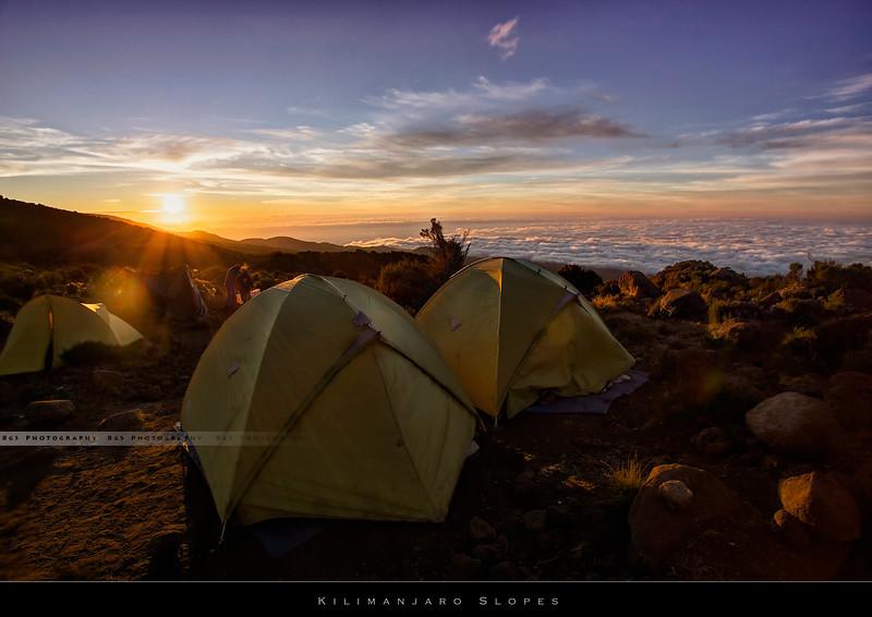 Kilimanjaro slopes