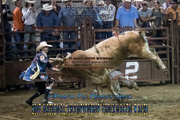 2017 Bullfighters National Championship Chuckwagon Races