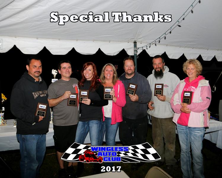 10-7 Wingless Auto Club Banquet