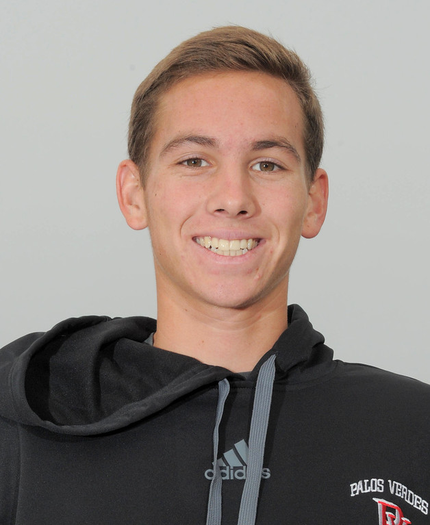 . 12-04-12( Staff Photo bySean Hiller) Palos Verdes boys soccer player Charlie Keating.