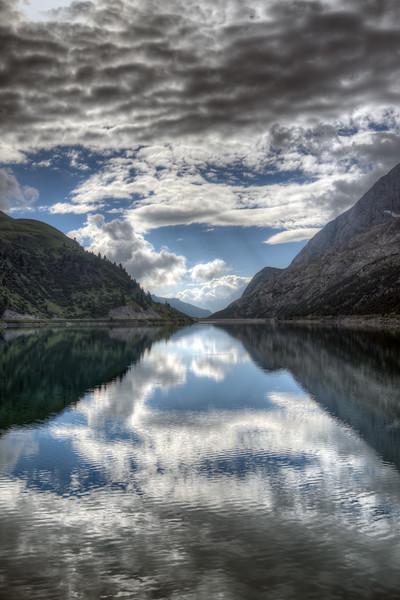 Fedaia Lake - Canazei, Trento, Italy - August13, 2013