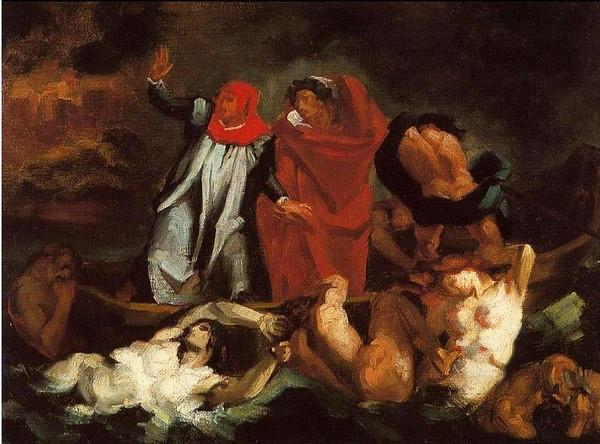 Paul Cezanne after Delacroix
