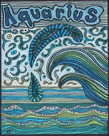 Monica's Zodiac Drawings