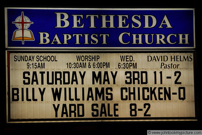 2008 05 03 Yard Sale and Billy Williams Famous Chicken-Que