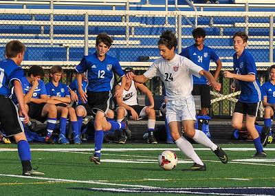 JV Boys Soccer Action