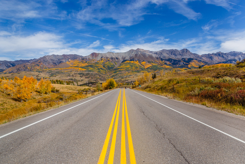 Colorado 145 near Mountain Village