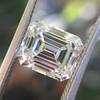 1.83ct Vintage Emerald Cut Diamond GIA F VVS2 31
