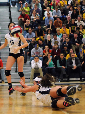 Andover volleyball semifinals