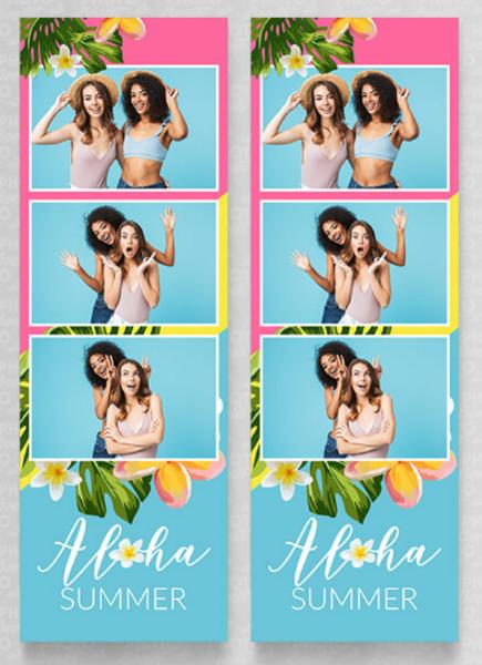 Aloha 3 pic strip